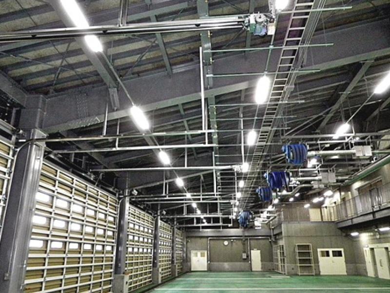 魚沼市消防庁舎電気設備工事 車庫棟
