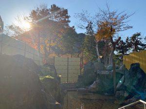 寿和温泉露天風呂棟電気設備改修工事6