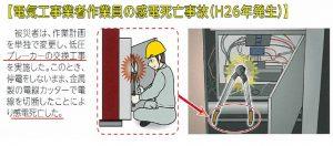 H26感電事故